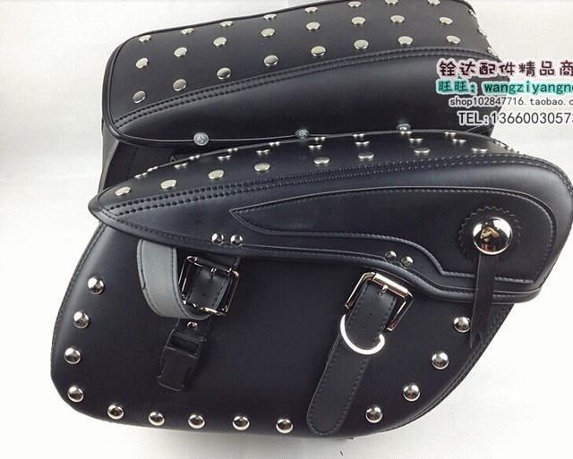 7b95ad3cbe01 Free shipping brand name designer Modified cars cruising motorcycle side  bag saddle bag Knight Bag