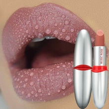 2019 1PC Bullet Shaped Lipstick Waterproof Non-Stick Cup Long Lasting Colorfast Matte