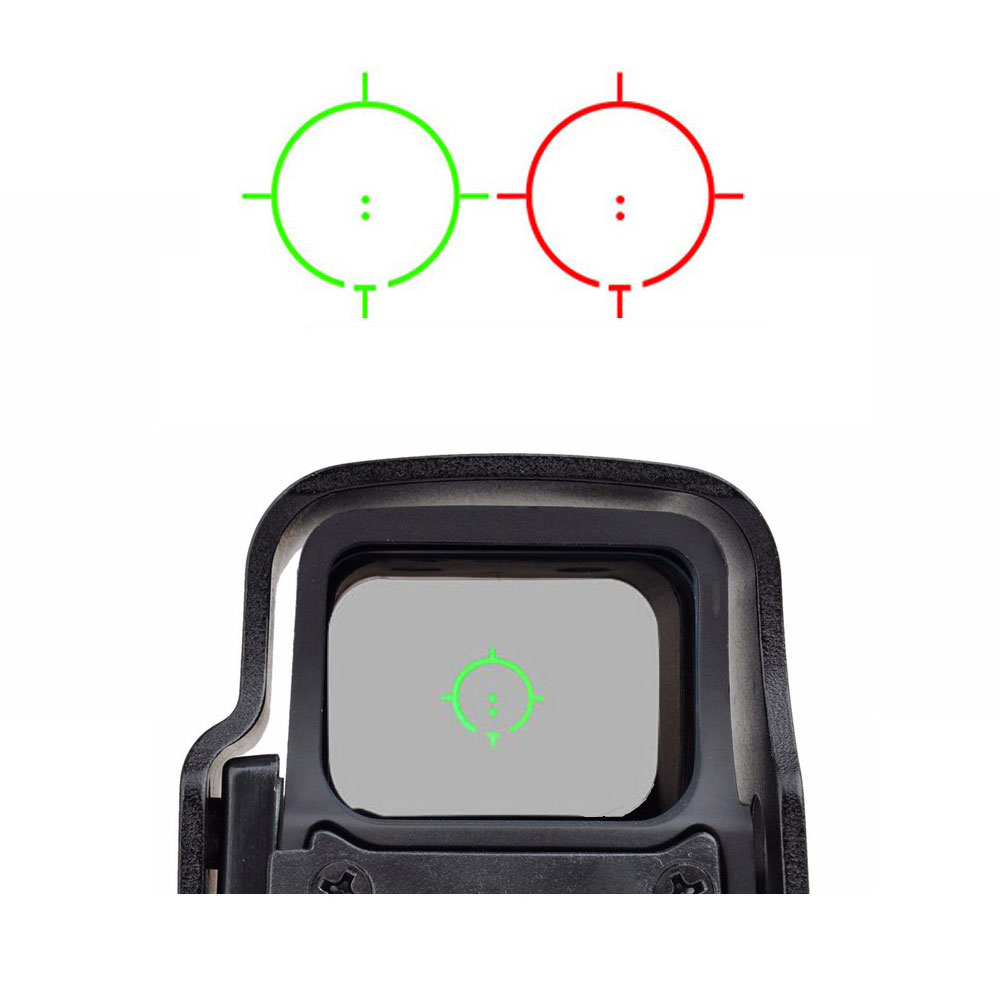 Tactical Optic XPS 3-2 Holographic Red Green Dot Scope Sight With QD Mount