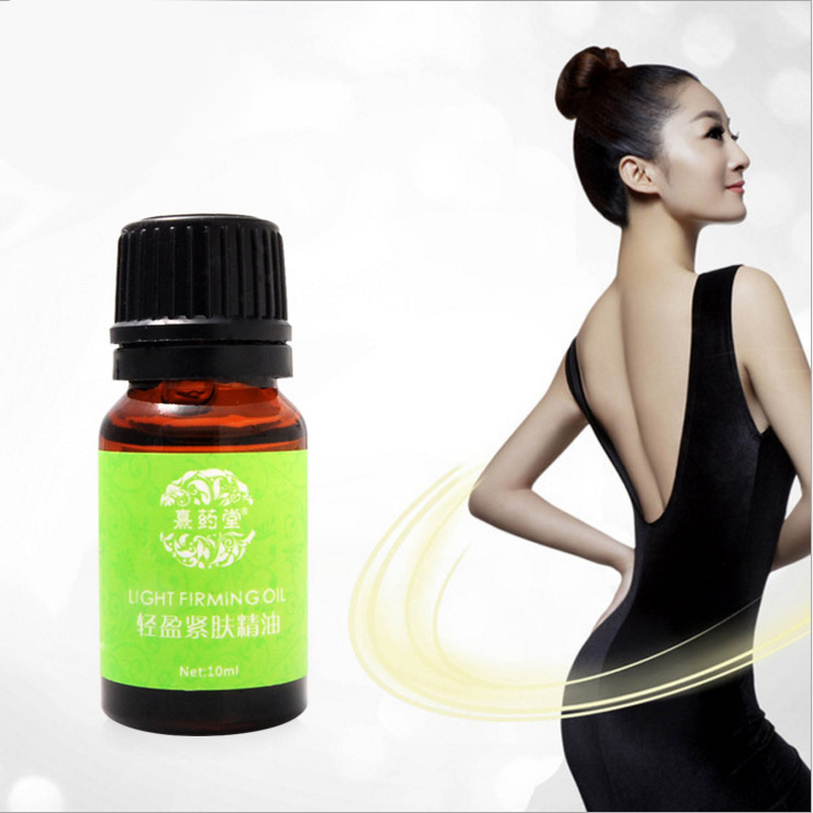 10*10ml Massage essential oil cream reduce the beauty belly cream body burn body fat plastic body fat waist paste V face iphuck 10