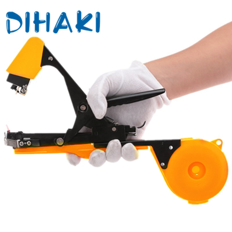 Garden Tools Plant Tying Tapetool Branch Hand Tying Machine Strapping Cortador Huerto Grape Binding Garden Tool With Accessories