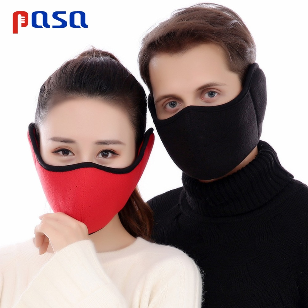Anti Pollution Mask Dust Respirator Washable Reusable Masks Unisex 360 Degree Protective And Heat Preservation Face Ear Neck