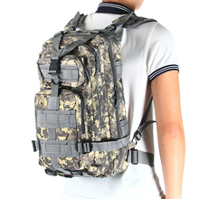 30L Unisex Waterproof Nylon Backpacks Army Military Tactical Large Capacity Rucksack Outdoor Travel Camping Hiking Survival Bag