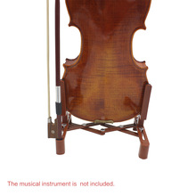 Adjustable Stand Holder for Full Size 4/4 3/4 1/2 1/4 Violin Part Accessory Plastic Foldable Extended Portable Sponge Pad