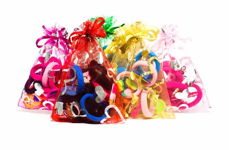 8 יח'\חבילה חג המולד בעלי חיים ילדים שיער להקות סרטי ראש Cartoon בנות שיער אלסטי סיכות אביזרי קידום מכירות מתנה