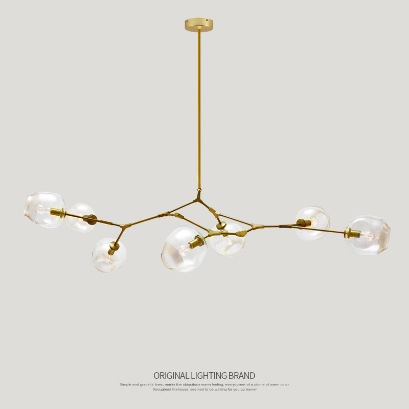 Lindsey adelman globe branching bubble glass pendent light lindsey adelman globe branching bubble glass pendent light chandelier living dinning room lobby lamp gold bar stair fixture in pendant lights from lights aloadofball Choice Image
