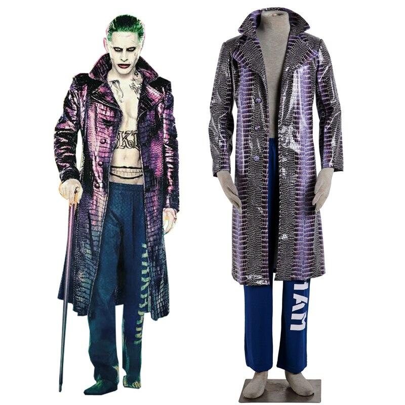 Костюм Джокера для косплея, костюм команды «ловца»
