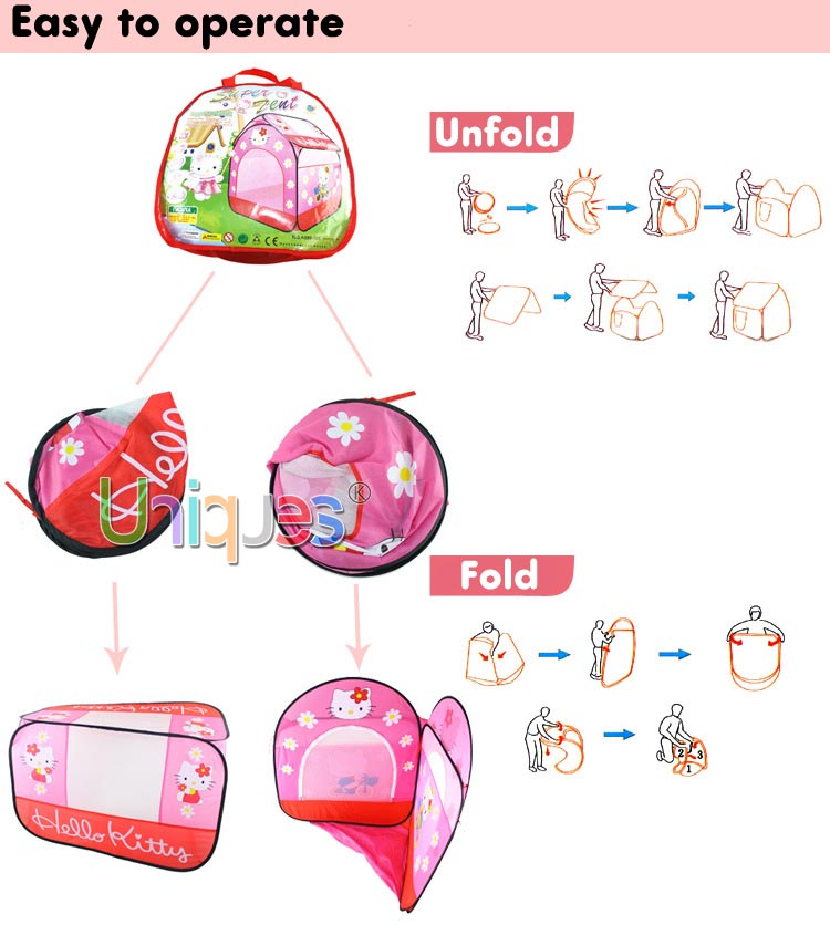 Hello Kitty Play House For Children 4