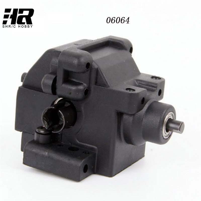 Free shipping RC car 1/10 HSP 06064 Rear Gear Box Complete RC 1:10 Scale HSP 94122 94188 94166 94155 Car Original Parts