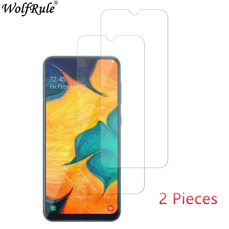 2PCS For Samsung Galaxy A50 Glass For Samsung A50 Tempered Glass Thin 9H Hardness Screen Protector For Samsung Galaxy A50 Glass