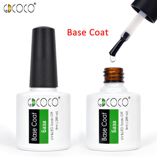 70312#Cheap Long Lasting Gel Nail Polish Canni Supply 50 Colors GDCOCO Soak Off UV LED Gel Varnish Coat Color Polish Gel