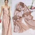 Мода Шелковый Шарф Женщины Echarpe Femme Bufandas 100% Сатин Лоскутная Обнаженная Пашмины Длинный Шарф Шали Шарфы Высокое Качество