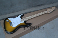 Free shipping High Quality 6 Strings left hand stratocaster Electric Guitar custom body @22