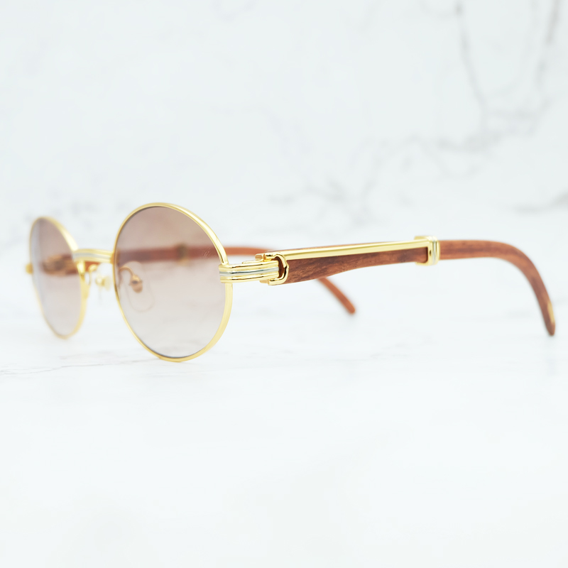 Retro Luxury Brand Name Designer Carter Wooden Men Sunglasses Maroon Wood Black Women Sunglass Unisex Holiday Shades