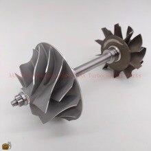 HX40W Turbine rad 64x76mm, 10 klingen, kompressor rad 60x86mm 7/7, Turbo teile kits lieferant AAA Turbolader Teile