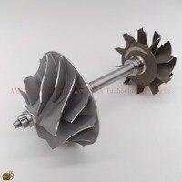 HX40W Turbine wheel 64x76mm,10blades,compressor wheel 60x86mm 7/7,Turbo parts rebuild kits supplier AAA Turbocharger Parts
