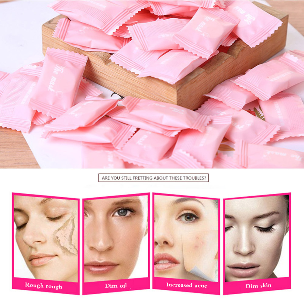 Wrapped Masks Disposable Facial Masks Compressed Face Mask Paper Natural Skin Care Papers Women Makeup Facial Care Tool
