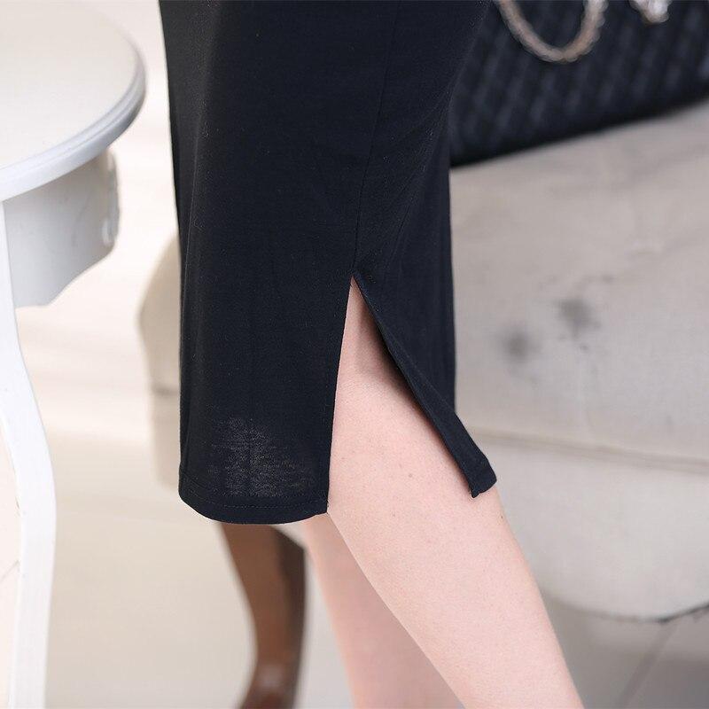Wanita Paket Hip Gaun Seksi Gadis Singkat Lurus Tanpa Lengan Gaun - Pakaian Wanita - Foto 4