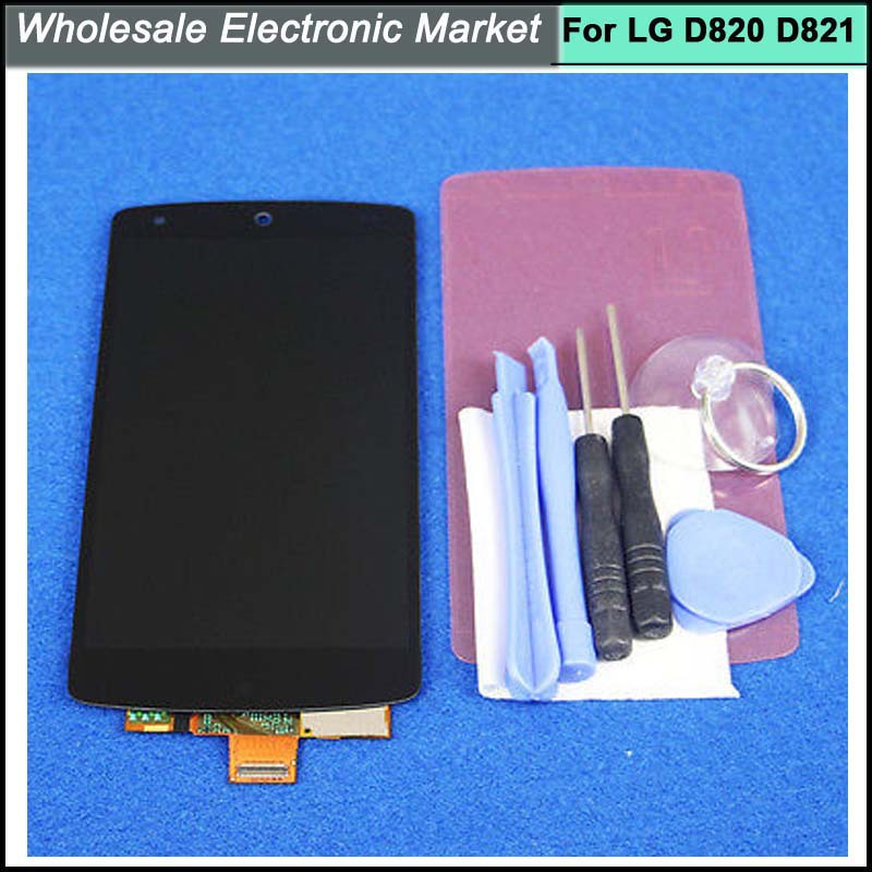 HK Post Free Shipping For LG Google Nexus 5 D820 D821 LCD Display Touch Screen Digitizer Assembly Replacement Parts