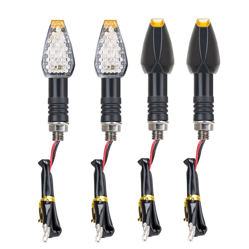 5 LED 12V 4 intermittent headlights for motorcycle, turn signal, flashing, amber light5 LED 12V 4 intermittent headlights for motorcycle, turn signal, flashing, amber light