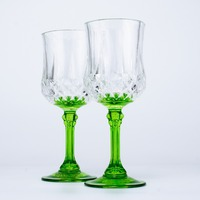 Whiskey New Popular Brandy Glassware Hot Sale Red Wine Glass Shot Cup Color Cheap Glass Cup