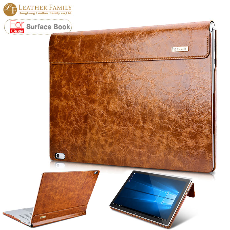 leather surface book case leather surface