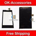 Черный Цвет Для ZTE Поцелуй 2 II Макс V815W Оригинальный ЖК-Дисплей С Сенсорный Экран Высокого Качества 1 Шт./лот Бесплатная доставка