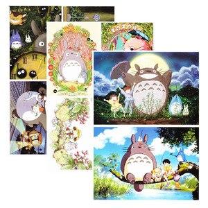 Image 4 - Anime mój sąsiad Totoro kolorowanka dla dzieci dorosły stres stres zabij czas malowanie rysunek antystresowy książki prezent