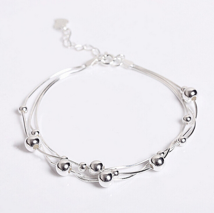 Classic Beautiful 925 Sterling Silver Multilayer Small ...