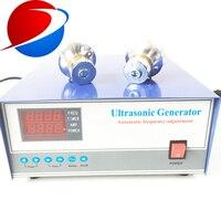 1000 вт ультразвуковой очиститель генератор для преобразователя 20 кГц 40 кГц ультразвуковой генератор для очистки бака