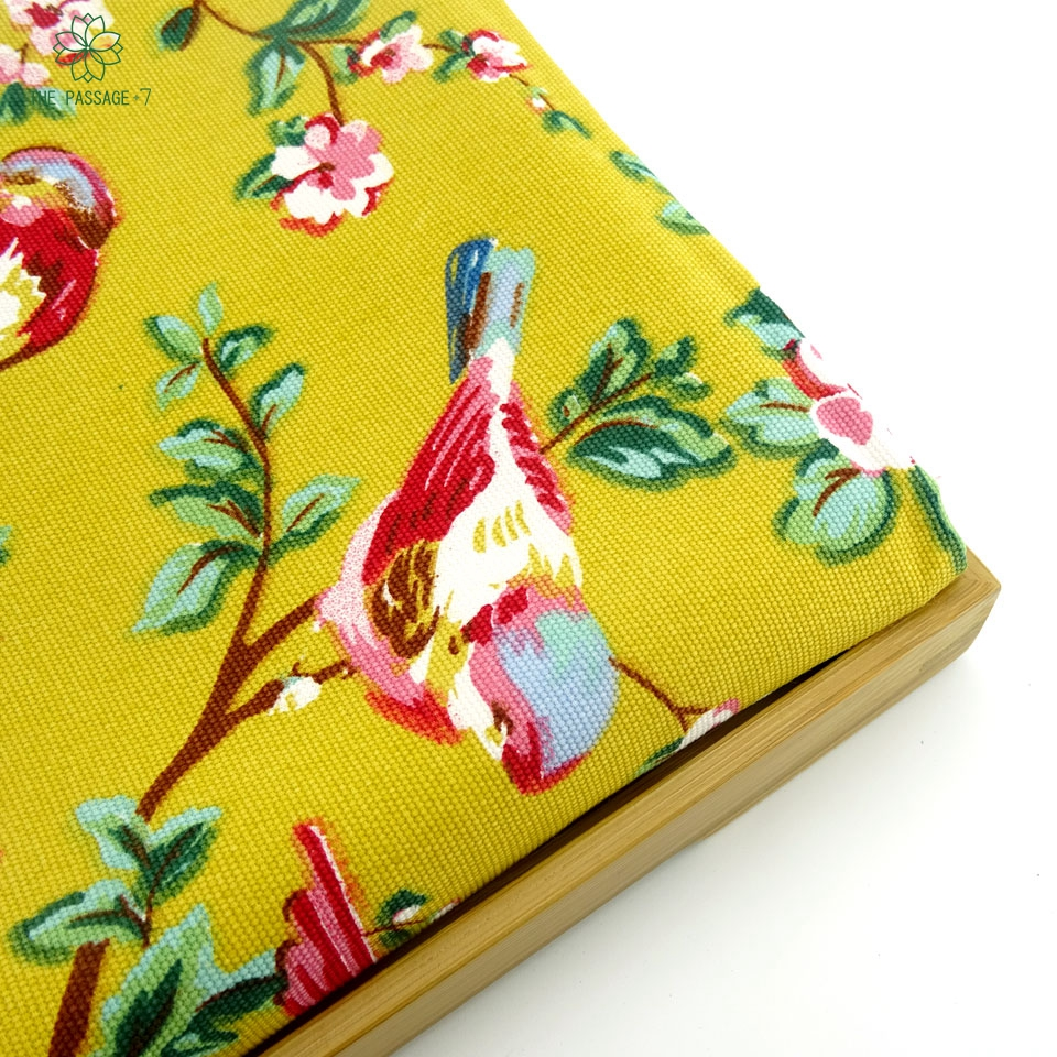 online buy wholesale upholstery fabrics from china upholstery british yellow flower bird cotton linen upholstery fabric patchwork craft sewing textile diy for curtain cushion