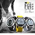 F69 Смарт Часы Сидячий Напоминание IP68 Водонепроницаемый Шагомер Сердечного ритма SMS Напоминание Анти-Потерянный Smartwatch для Iphone 6 Android
