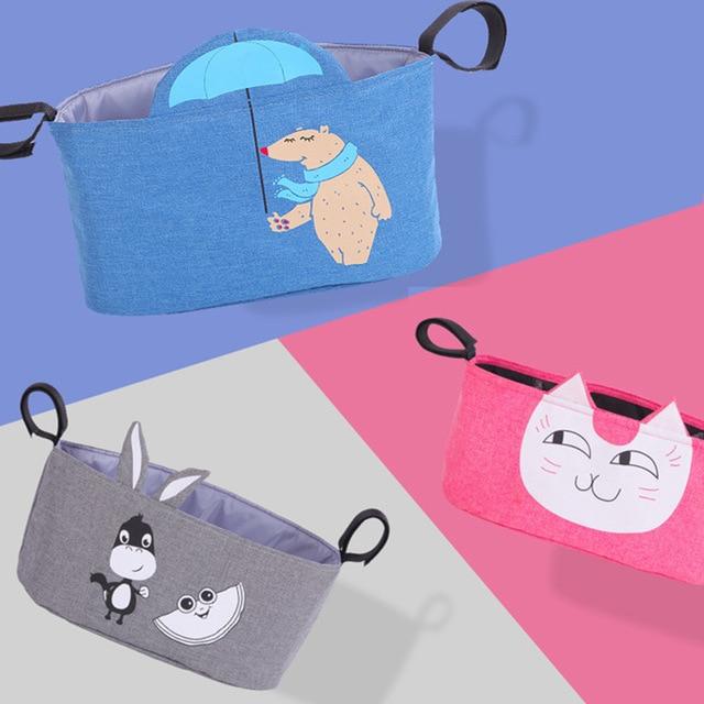 Animal Baby Diaper Bag For Wheelchairs Stroller Bolso Maternal Cart Mom Nappy Children's Maternity Bag For Baby