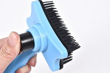 Pet Dog Grooming Hair Cleaning Massage Removal  Comb Brush Pin