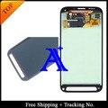 Frete grátis 100% testado Original para Samsung Galaxy S5 atividade G870 LCD tela de LCD digitador assembléia cinza ou verde
