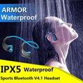 ДАКОМ Броня G06 Bluetooth V4.1 Наушники IPX5 Водонепроницаемый Спорт Гарнитура Беспроводная Анти-пот Ухо-крюк Запуск Наушники с Mic