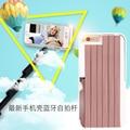 Selfie Stick 2 в 1 Встроенный Bluetooth для iphone se/5s/5 Премиум Алюминия Поручень Беспроводной Пульт Дистанционного Телефон Case