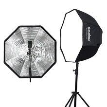 Godox 80 см 31,5 дюйма переносной восьмиугольный зонт для софтбокса Brolly отражатель для вспышки Speedlight