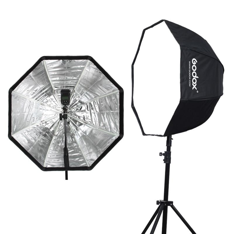 Godox 80cm 31.5in Portable Octagon Softbox Umbrella Brolly Reflector for Speedlight Flash Reflector for Flash Speedlight