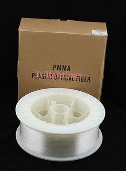 PMMA Lumière De Fibre Optique Câble Fin Lueur 2mm/350 M Fibre Optique Ligne Pour La Décoration
