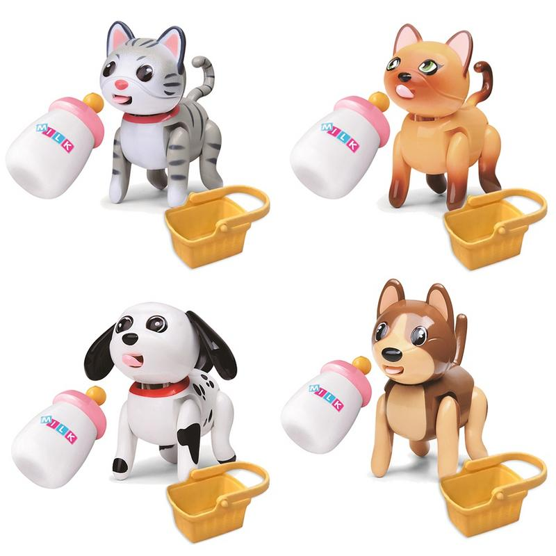 New Cute Induction Puppy Toy Inductively Suckling Pet Educational Toy Interactive Baby Pet Toy Gift For Kids