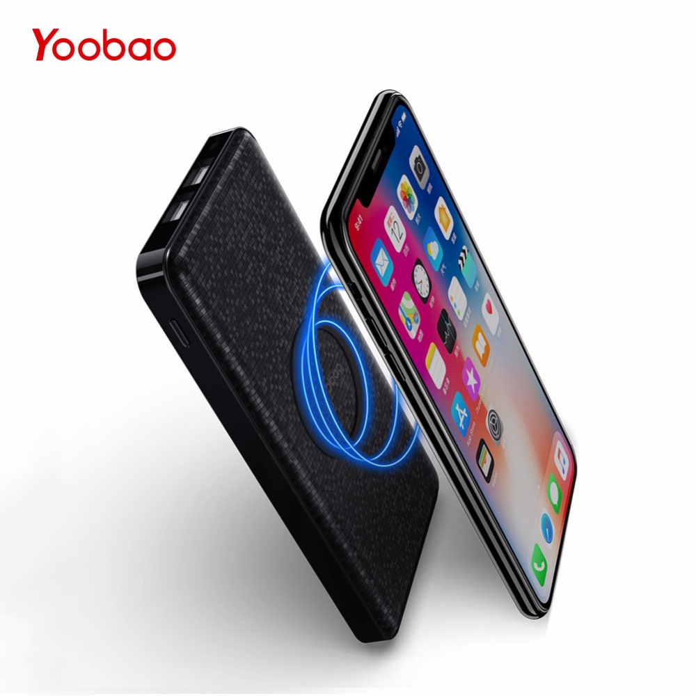 Yoobao Wireless Power Bank 5000 mAh For iPhone X 8