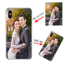 Personalized Customized DIY Case For Samsung Note 10 Plus S20 S10 A71 A51 A41 A31 A50 A70 A40 S20 FE A21S Print Photo Cover
