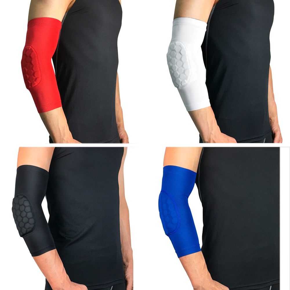 1 Piece Arm Sleeve Honeycomb Anti-collision Sports Protection Protective Gear LFSPR0031