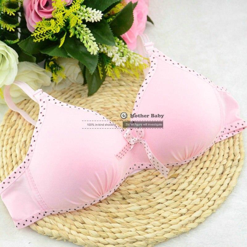 3pcs/lot Child Sports Bra Kids Thin Cup Young Girl Bra Cotton Intimates Girls Lingerie Underwear Teenage Bra For Children
