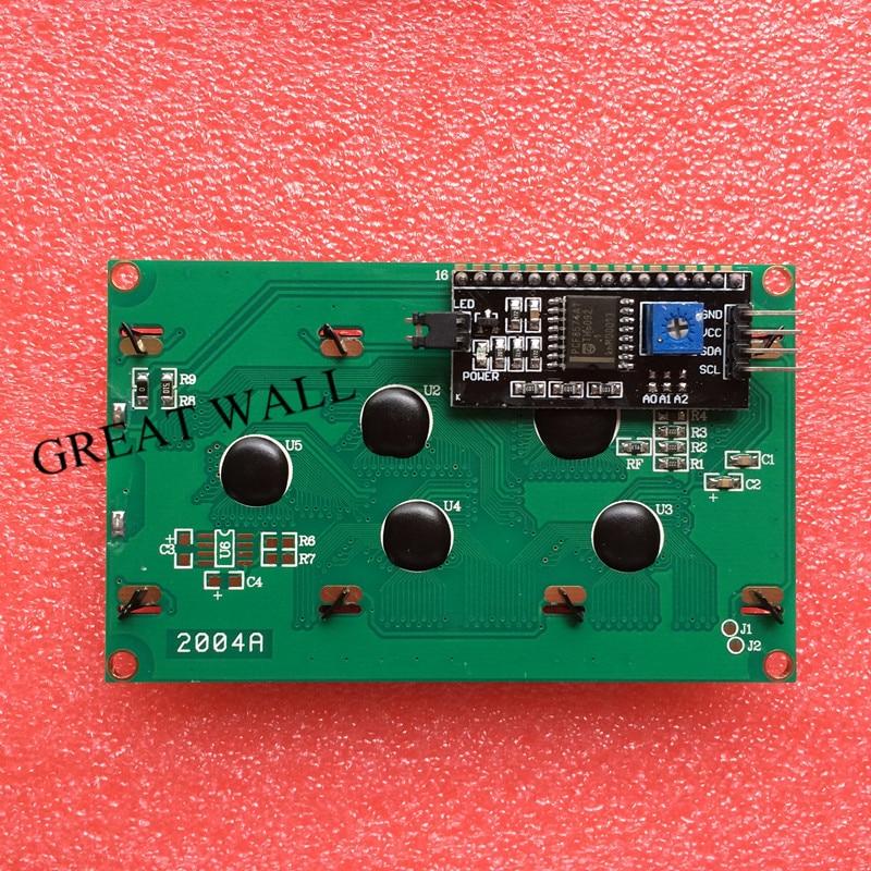 10PCS LCD2004 I2C 2004 20x4 2004A blue screen HD44780 for font b arduino b font Character