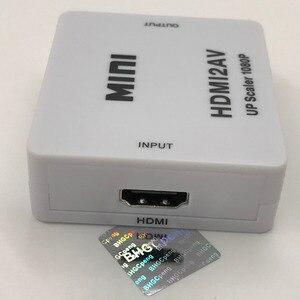 Image 3 - HDMI AV Converter hdmi auf cinch RCA CVBS L/R Weibliche auf Buchse Adapter Unterstützung NTSC PAL für DVD HDTV 480 p 1080 p