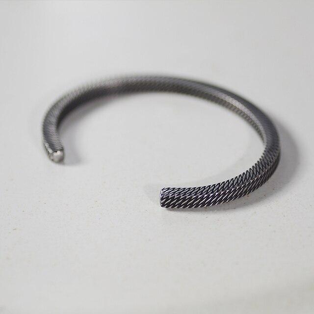 Bracelet Style rétro titane acier viking 2