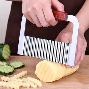 1 pc Wave Potato Cutter Stainl
