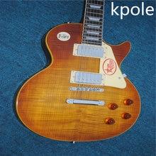 Фотография Free shipping China gbson standard Kpole les tobacco lp electric guitar